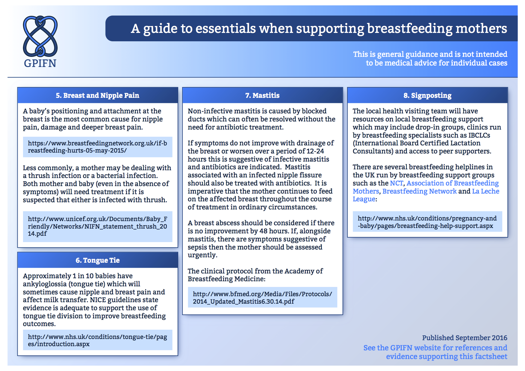 Gpifn Resources The Gp Infant Feeding Network Uk